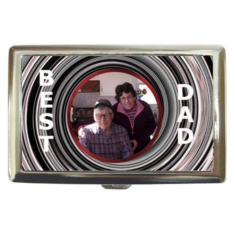 Dad Money/cigarette Case By Kim Blair   Cigarette Money Case   6yew0soohfyk   Www Artscow Com Front