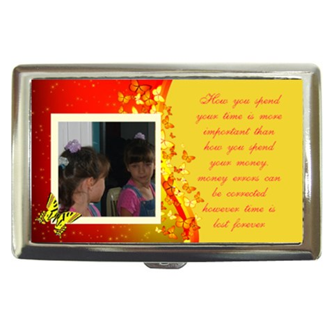 How You Spend Your Money By Kim Blair   Cigarette Money Case   Qoljjg1kf5lg   Www Artscow Com Front