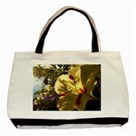 yellow flower - Basic Tote Bag