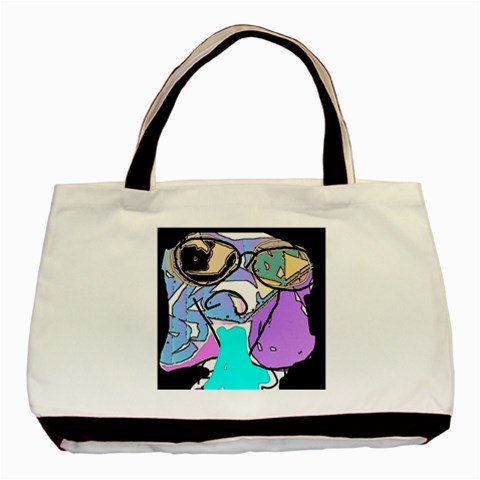 My New Sunglasses 2 By Riksu   Basic Tote Bag   Csnjpcytmt48   Www Artscow Com Front