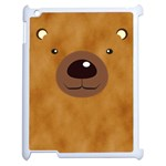 bear - Apple iPad 2 Case (White)