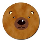 bear - Round Mousepad