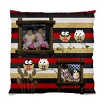 Owls in the night - Standard Cushion Case (One Side)