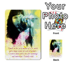 Business Cards By Juliet Van Ree   Multi Purpose Cards (rectangle)   Gjstag5hlz72   Www Artscow Com Front 6