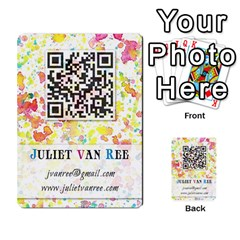 Business Cards By Juliet Van Ree   Multi Purpose Cards (rectangle)   Gjstag5hlz72   Www Artscow Com Back 40