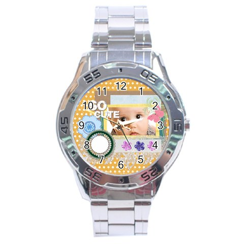 So Cute By Joely   Stainless Steel Analogue Watch   Ivbwto8tw5u5   Www Artscow Com Front