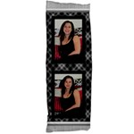 Black and Silver Body Pillow (2 Sided) - Body Pillow Case Dakimakura (Two Sides)