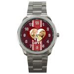 love - Sport Metal Watch