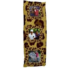Leopard Body Pillow By Kim Blair   Body Pillow Case Dakimakura (two Sides)   Tuuialllu0if   Www Artscow Com Front