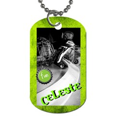 Lesty s Dog Tag 2012 By Shelley Hoover   Dog Tag (two Sides)   5xlcdzom3ur3   Www Artscow Com Front
