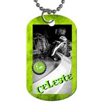 Lesty s Dog Tag 2012 - Dog Tag (Two Sides)