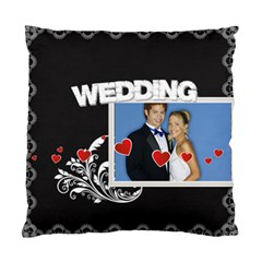 Wedding By Joely   Standard Cushion Case (two Sides)   Gi4tqc26f78h   Www Artscow Com Back