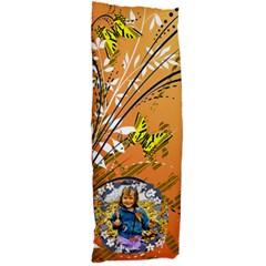 Orange Swirl And Butterfly Body Pillow Case By Kim Blair   Body Pillow Case Dakimakura (two Sides)   Qepd2muwx6bs   Www Artscow Com Front