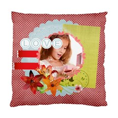 Love By Joely   Standard Cushion Case (two Sides)   3qvyy4slfi64   Www Artscow Com Back