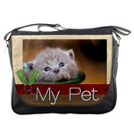 my pet - Messenger Bag