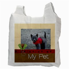 Pet By Joely   Recycle Bag (two Side)   Cet6efyiwlb3   Www Artscow Com Back