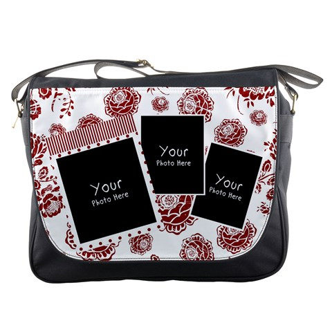Redbag By Lillyskite   Messenger Bag   Tjc1zxs3plzs   Www Artscow Com Front