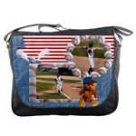 Baseball Messenger Bag 1