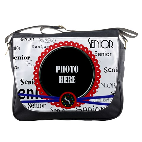 Wkm School Messenger Bag 1 By Lisa Minor   Messenger Bag   Asc4yc5mhf7f   Www Artscow Com Front