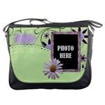 Lavender Rain Messenger Bag 1
