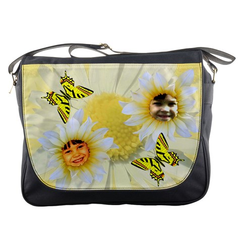 Daisy Messenger Bag By Kim Blair   Messenger Bag   Z5cqeg5jsicx   Www Artscow Com Front
