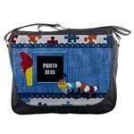 Silly Summer Fun Messenger Bag 1