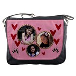 Messenger Bag -Hearts Hearts