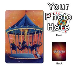 Dixit 1 By Pixatintes   Playing Cards 54 Designs   Bs4r3r8fn021   Www Artscow Com Front - Club2