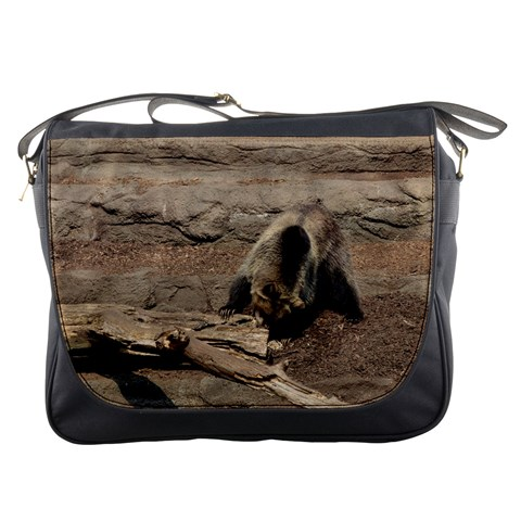 Messenger Bag   Hungry Bear By Jenessa   Messenger Bag   E0to0fsr4tfr   Www Artscow Com Front
