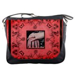 Art Nouveau Red  Messenger bag