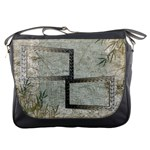Neutral Shadow Frame Messenger bag