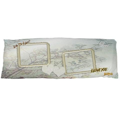 Who Do I Love I Love You Wedding Body Pillow Case By Ellan   Body Pillow Case (dakimakura)   Tucei11g88fs   Www Artscow Com Body Pillow Case