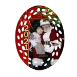 Christmas Memories Filigree Ornament - Ornament (Oval Filigree)