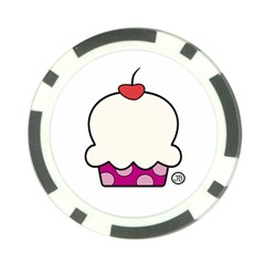 Cupcake Poker Chip By Giggles Corp   Poker Chip Card Guard   0jhmgidorfs1   Www Artscow Com Front
