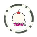 cupcake poker chip - Poker Chip Card Guard