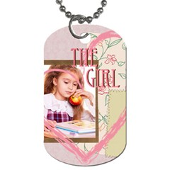 The Girl By Joely   Dog Tag (two Sides)   Jdc2zlwbzy58   Www Artscow Com Back