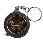 Leather-Look Butterfly Measuring Tape