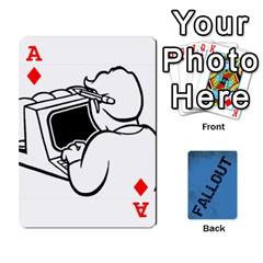 Ace Falloutdeckcustom By Brianna   Playing Cards 54 Designs   Sovsvv6s52o3   Www Artscow Com Front - DiamondA