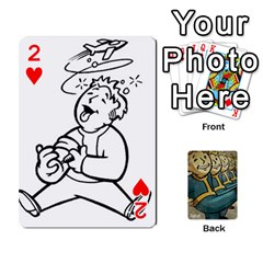 Falloutdeckcustoma By Brianna   Playing Cards 54 Designs   3k4ufsxoabky   Www Artscow Com Front - Heart2