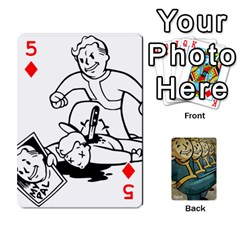 Falloutdeckcustoma By Brianna   Playing Cards 54 Designs   3k4ufsxoabky   Www Artscow Com Front - Diamond5