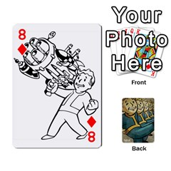 Falloutdeckcustoma By Brianna   Playing Cards 54 Designs   3k4ufsxoabky   Www Artscow Com Front - Diamond8