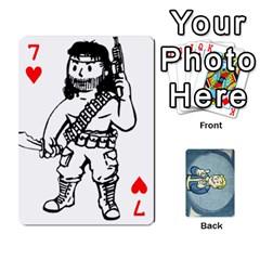 Falloutdeckcustomc By Brianna   Playing Cards 54 Designs   Gb7a645l6vum   Www Artscow Com Front - Heart7
