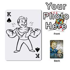 King Falloutdeckcustomd By Brianna   Playing Cards 54 Designs   9os9ldaxvlym   Www Artscow Com Front - SpadeK