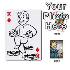 King Falloutdeckcustomd By Brianna   Playing Cards 54 Designs   9os9ldaxvlym   Www Artscow Com Front - DiamondK