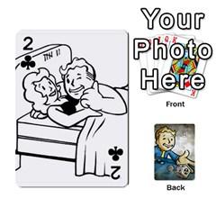 Falloutdeckcustomd By Brianna   Playing Cards 54 Designs   9os9ldaxvlym   Www Artscow Com Front - Club2