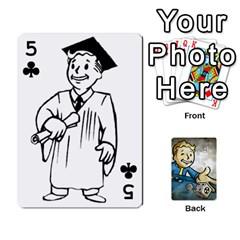 Falloutdeckcustomd By Brianna   Playing Cards 54 Designs   9os9ldaxvlym   Www Artscow Com Front - Club5