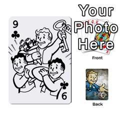 Falloutdeckcustomd By Brianna   Playing Cards 54 Designs   9os9ldaxvlym   Www Artscow Com Front - Club9