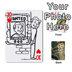 Falloutdeckcustome By Brianna   Playing Cards 54 Designs   Eq69alyb12u2   Www Artscow Com Front - Heart10
