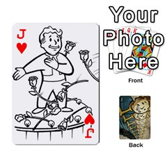 Jack Falloutdeckcustome By Brianna   Playing Cards 54 Designs   Eq69alyb12u2   Www Artscow Com Front - HeartJ