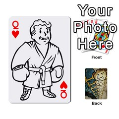 Queen Falloutdeckcustome By Brianna   Playing Cards 54 Designs   Eq69alyb12u2   Www Artscow Com Front - HeartQ